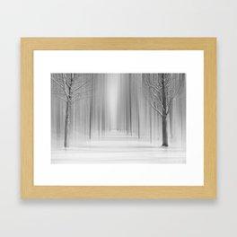 Winter 12 Framed Art Print
