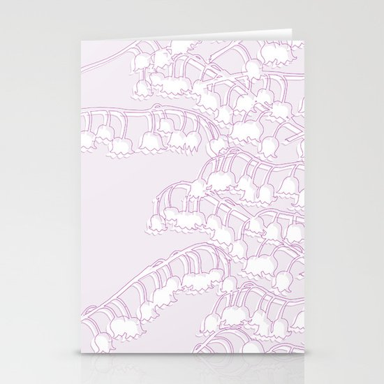 Lilac Lily Stationery Cards