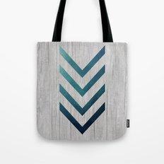 Blue Arrow  Tote Bag