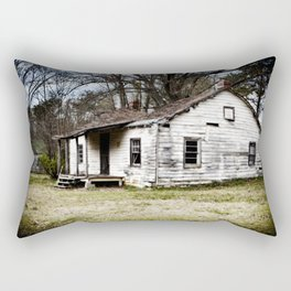 A sad shack. Rectangular Pillow