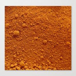 Naranja Absoluto Canvas Print