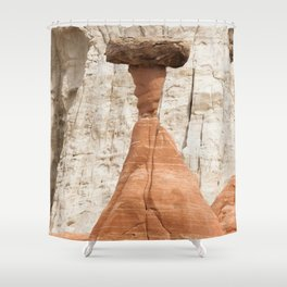 Hoodoo rock formation from Utah Shower Curtain