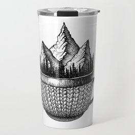 A cup of nature Travel Mug