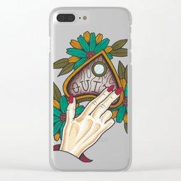 Ouija Clear iPhone Case
