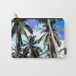 Palm Trees in a Posterised Design Carry-All Pouch