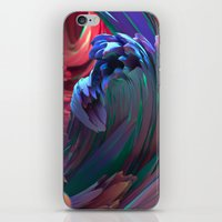 surf iPhone & iPod Skins featuring Surf by Choerte