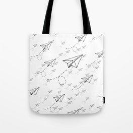 Paper Airplane 9 Tote Bag
