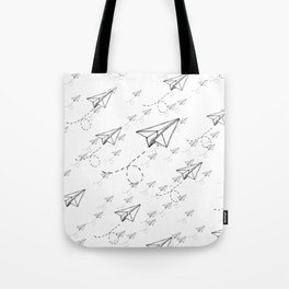 Paper Airplane 9 Tote Bag