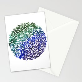 Botanical Medallion Stationery Cards