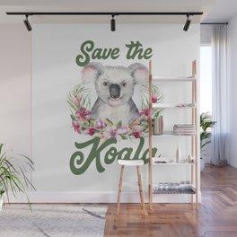 Save the Koala -#3 Wall Mural