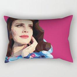 Del rey Rectangular Pillow