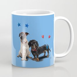What's the Deely? (Colour) Coffee Mug
