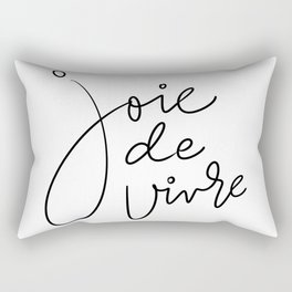 Joie De Vivre Rectangular Pillow