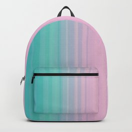 Miami Vice Pastel Ombre Backpack