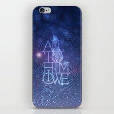All to Him I owe iPhone & iPod Skin
