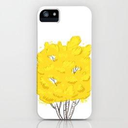 Yellow Birch  iPhone Case