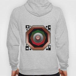 Octagon +circles make composition Hoody