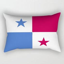 Panama flag emblem Rectangular Pillow