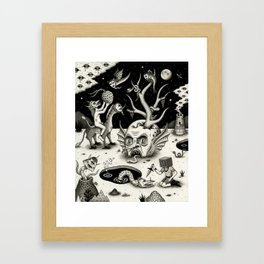 The Ways of the Wicked Framed Art Print