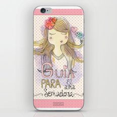 Guide for Dreamers / Guía para el alma soñadora iPhone & iPod Skin