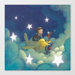 Dreams in the Stars Canvas Print