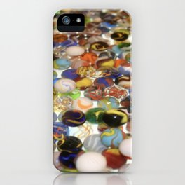 Marbles as far as the eyes can see iPhone Case