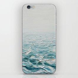 Foggy Seas iPhone Skin