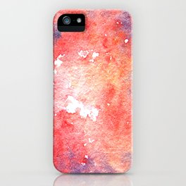 Symphony in red minor I iPhone Case
