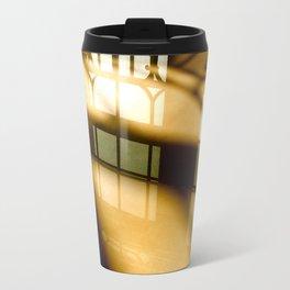 REFLECTIONS IN YELLOW Travel Mug