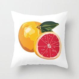 Pamplemousse Throw Pillow