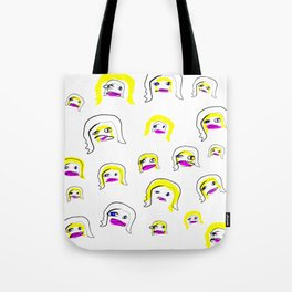 Super Starz Vee Two Tote Bag