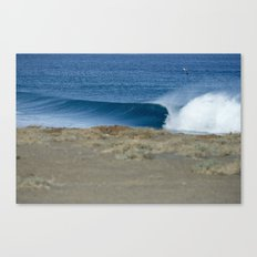 Empty Runner, Baja Canvas Print