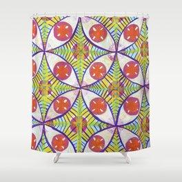 Kal-eye-doscope Shower Curtain