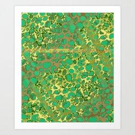 Vibrant Sponges 6.0 Art Print