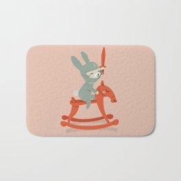 Rabbit Knight Bath Mat