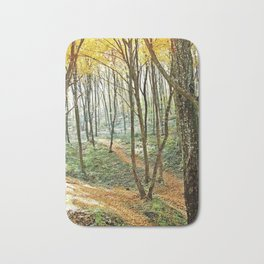 autumn forest 2 Bath Mat
