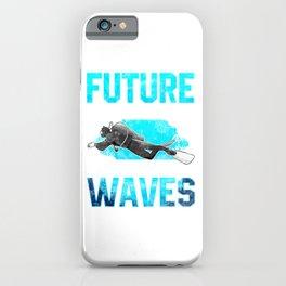 Future Marine Biologist Making Waves Pun iPhone Case