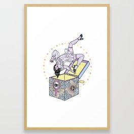 Think Outside the Box Framed Art Print