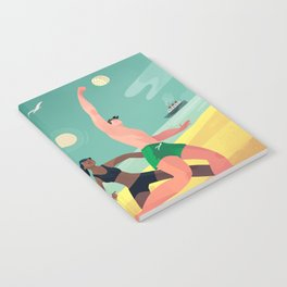 Beach Volleyball Notebook