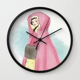 Old World Winter - Claire Fraser Wall Clock