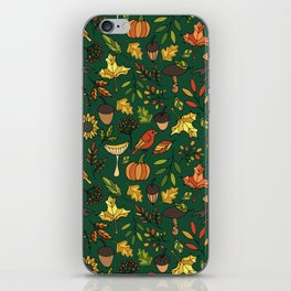 Bright autumn iPhone Skin