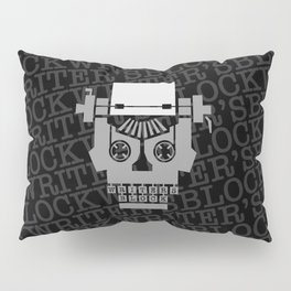 Writer's Block Pillow Sham