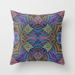 Diamond Garden Throw Pillow