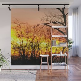 Fraser Sunset Wall Mural