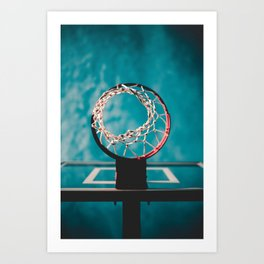 basketball hoop 6 Art Print