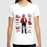 stiles stilinski T-shirts featuring Stiles Stilinski Quotes Teen Wolf by Alice Wieckowska