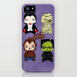 A Boy - Universal Monsters iPhone Case