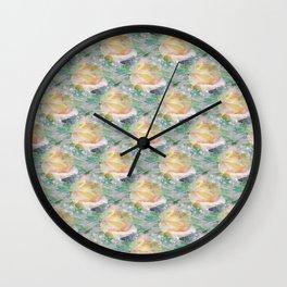 Rose Mist Wall Clock