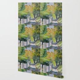 Floral Way Wallpaper