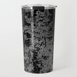 Brisbane map Australia Travel Mug